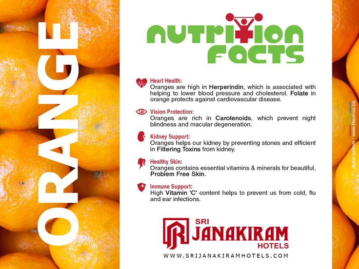 Nutritional Facts - Foods are not just meant for taste, there are many nutritional and medicinal benefits in every food. Let us Know what we eat and reason behind having it.  Follow us on Google+ - /+Srijanakiramhotels #Srijanakiram #Nurition #Facts #Orange