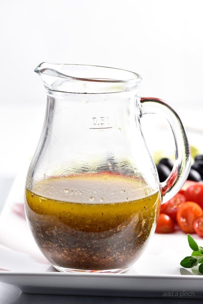 Homemade Italian Dressing is such a quick and easy salad dressing recipe! Made with olive oil, vinegar, herbs and spices, this Italian Dressing recipe is one that everyone always loves! To me, there is nothing like the flavor you can get from a homemade salad dressing.For years, I just grabbed bottles from the grocery store...