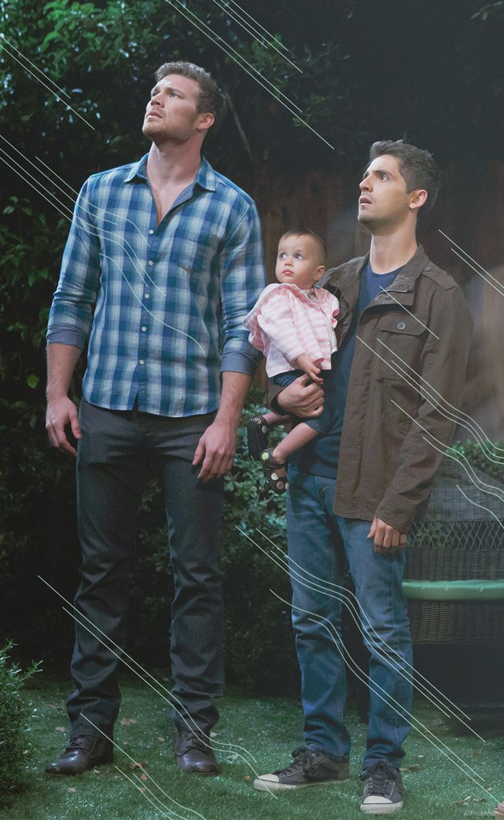 Anything is possible! // Jean-Luc Bilodeau and Derek Theler are brothers Ben and Danny Wheeler in Baby Daddy.