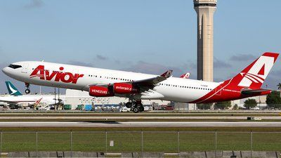 Photo of YV3292 - Airbus A340-313X - Avior Airlines