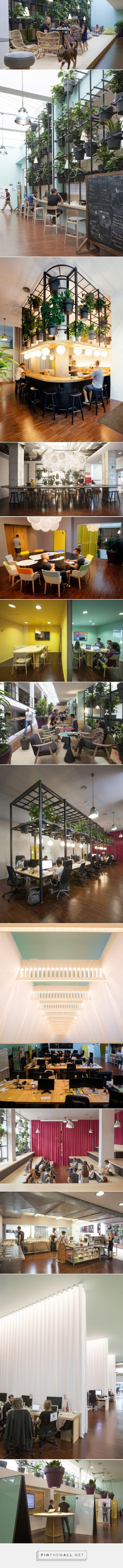 Lagranja 'plantifica' la sede de Typeform - diariodesign.com