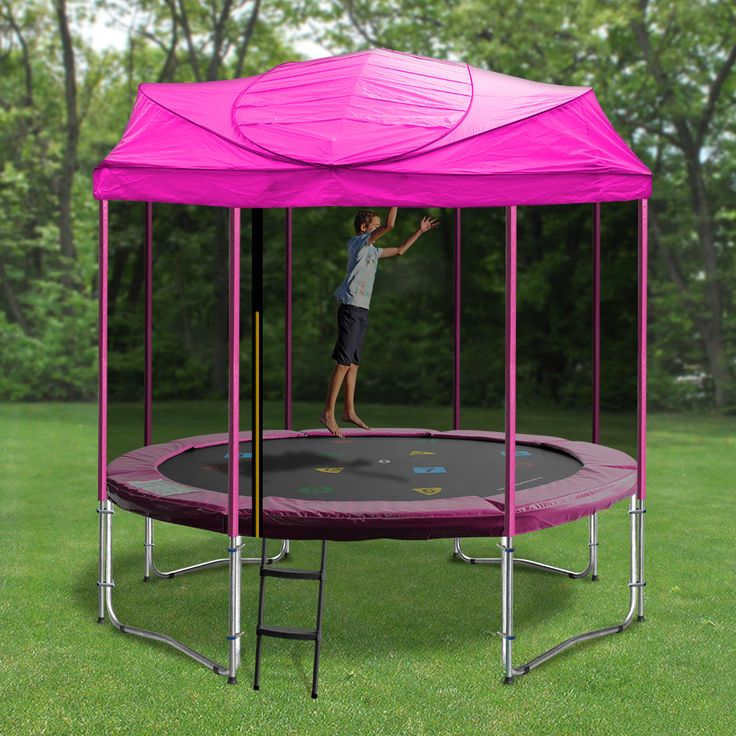Enjoy your Oz Trampolines Trampoline all year around, with our uniquely designed Trampoline and Roof.  Available in a variety of sizes and bright, fun colours, they are perfect for providing shelter and shade and ensures you enjoy a fun and enjoyable bouncing experience everyday.