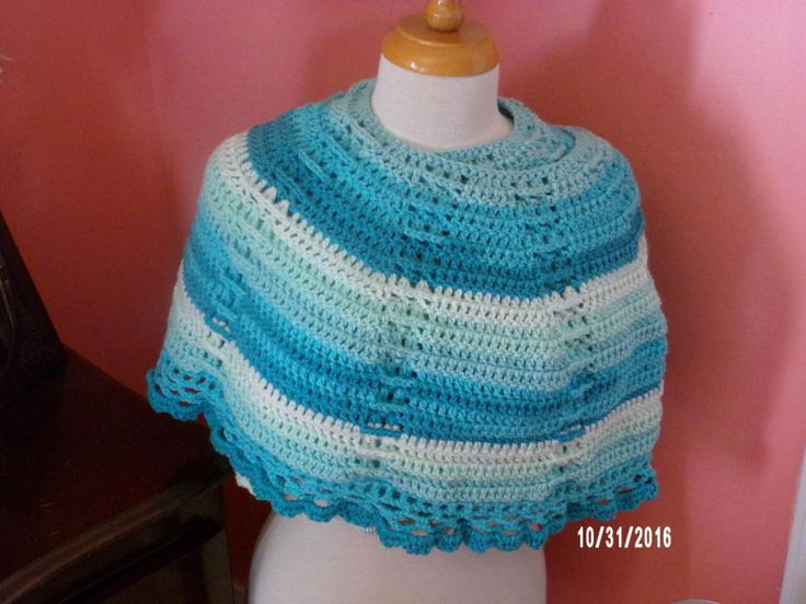 Delightfully Southern Shawl by Charlotte Huffman