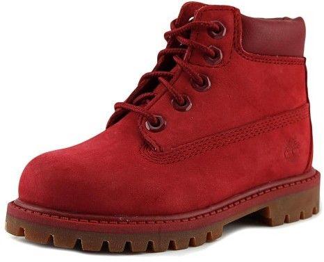 Timberland Premium Toddler US 9 Red Boot
