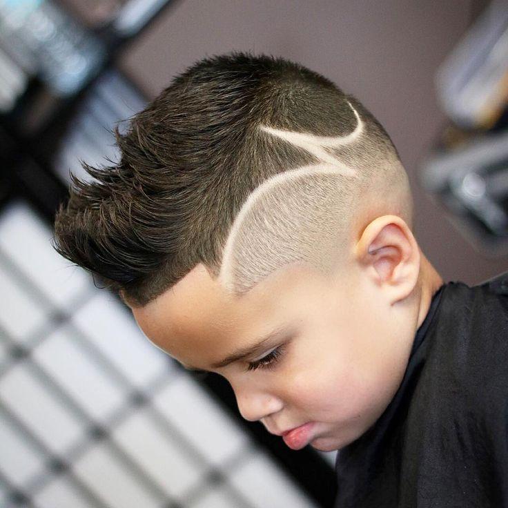 kid boy line haircuts