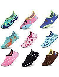 Men Women and Kids Quick-Dry Water Shoes Lightweight Aqua Socks For Beach Pool Surf Yoga Exercise #surfingexercise