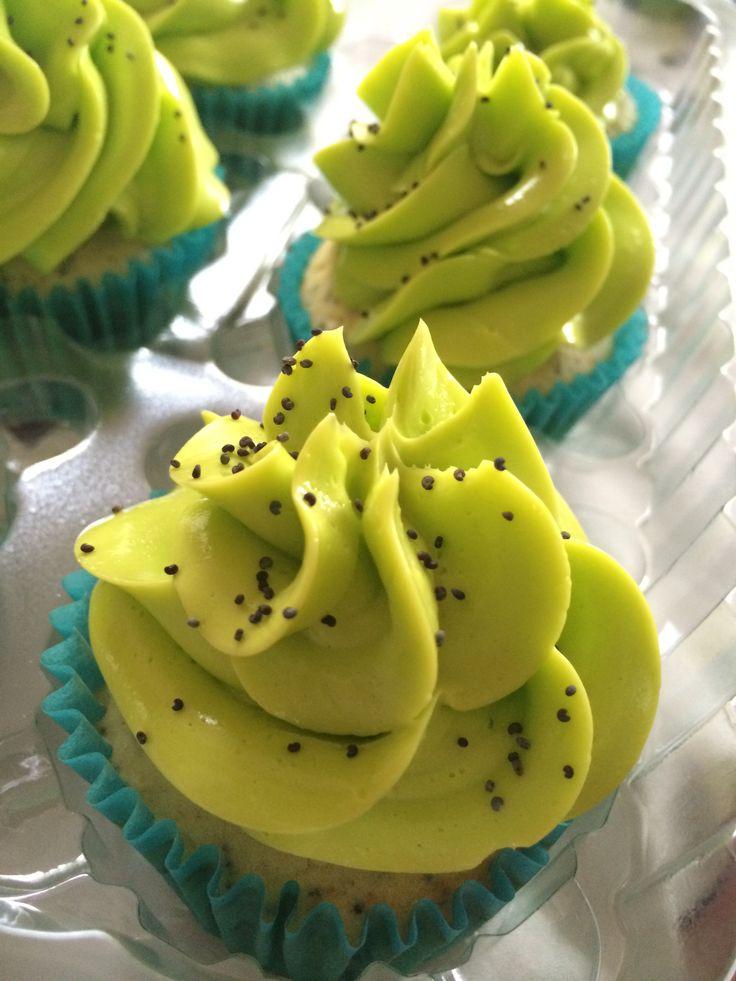Cup cake limón amapola