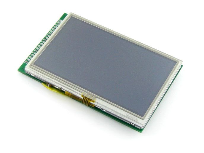 4.3inch 480x272 Touch LCD (A) 40pin cable LCM TFT Display Touch Screen Module Graphic LCD Display Module #Affiliate