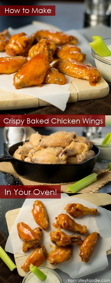 How to make crispy baked chicken wings