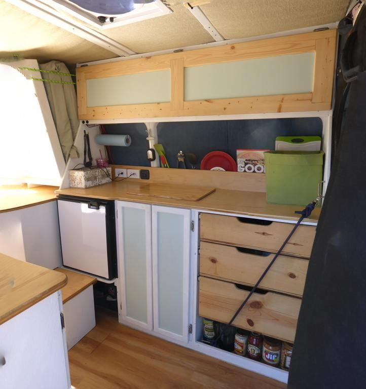 Sprinter custom build: https://www.reddit.com/r/DIY/comments/3syu0o/camper_van_build/