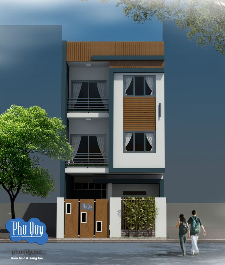 Thiết kế nhà 3 tầng kích thước 6m x 17m