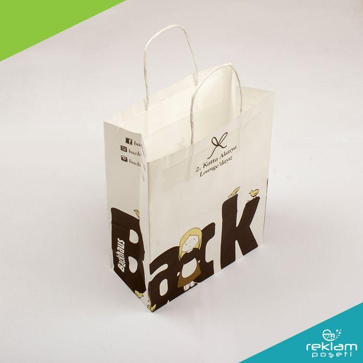 Reklam Poşeti - Ürünlerimiz - Kağıt Poşet, Paper Bags, Kraft Paper Bags