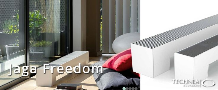 Jaga Freedom radiator als losstaande ltv radiator