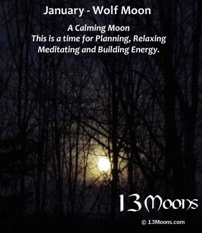 January Wolf Moon, my son was named after this