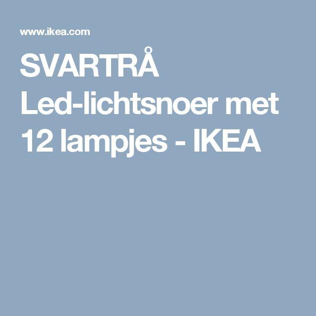 SVARTRÅ Led-lichtsnoer met 12 lampjes   - IKEA