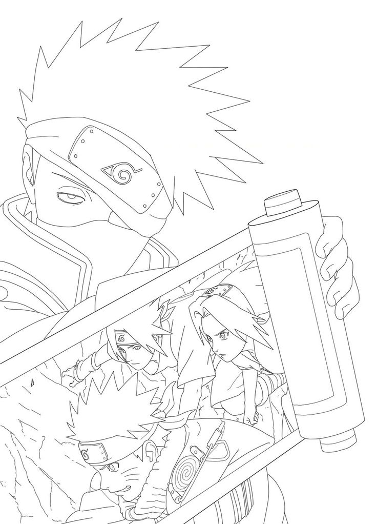 1582 Best Lineart Naruto Images On Pinterest Naruto