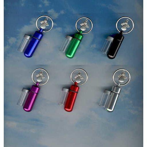 SD,Cremation Urn,Key chain Urn,Memorial Urn,Cremation Jewelry,Keepsake Urn