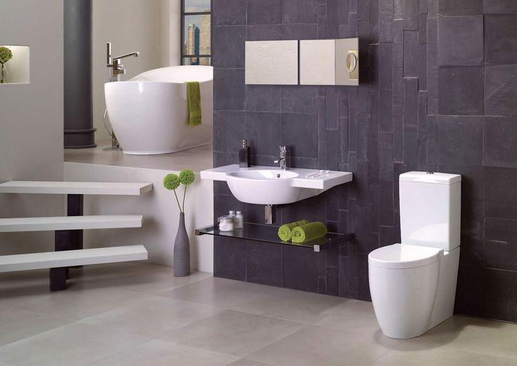 Best 25+ Slate wall tiles ideas on Pinterest   Slate bathroom ...