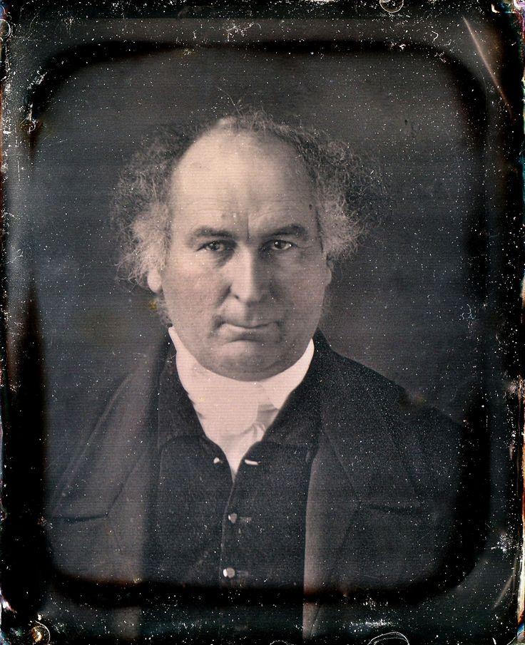 Reverend Thomas D. Mitchell, Circa 1845