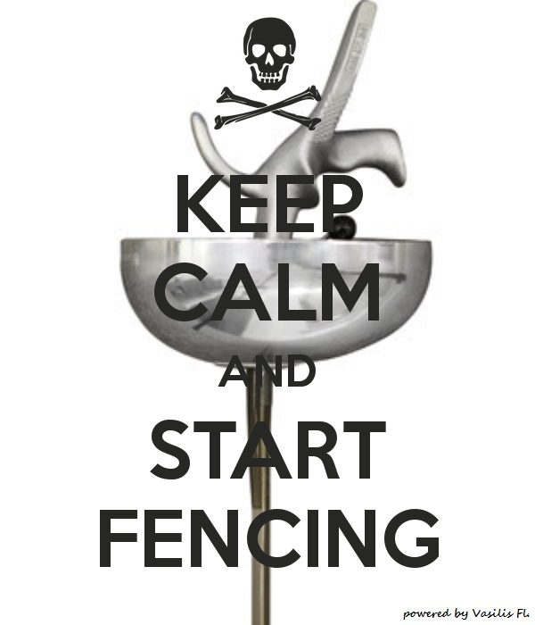 Before we begin writing Boarded, our pirate adventure, I need to take some fencing lessons :D