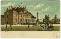 Toruń - dworzec Toruń Miasto