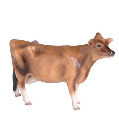 Jersey cow figurine