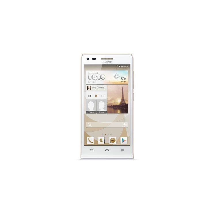 HUAWEI - Ascend G6 on tyylikkään valkoinen ja hinnaltaan huokea älypuhelin! #lahjaidea