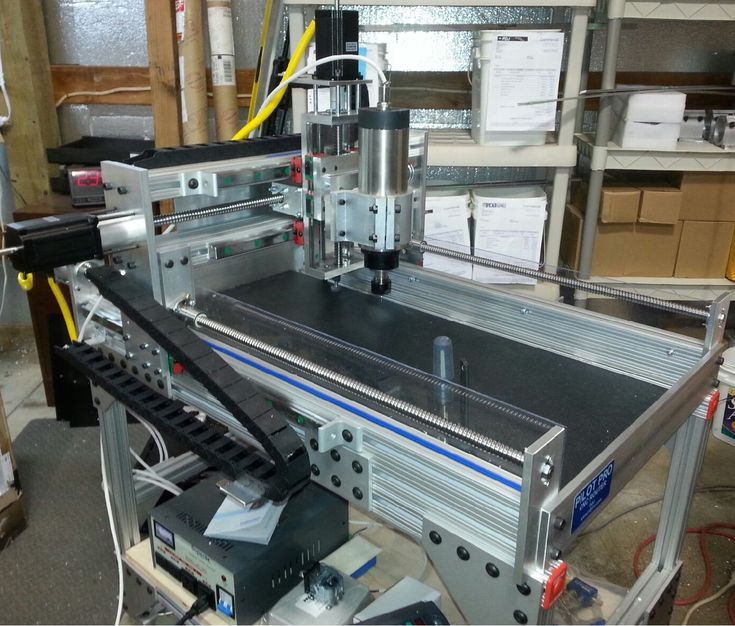 1220 CNC router with spindle and stand