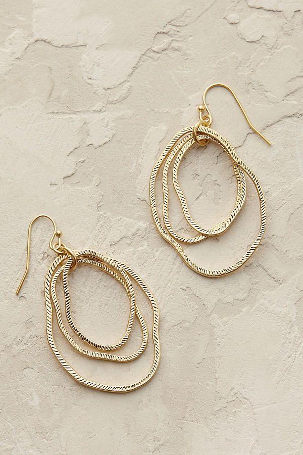 Slide View: 1: Bethany Hoop Earrings