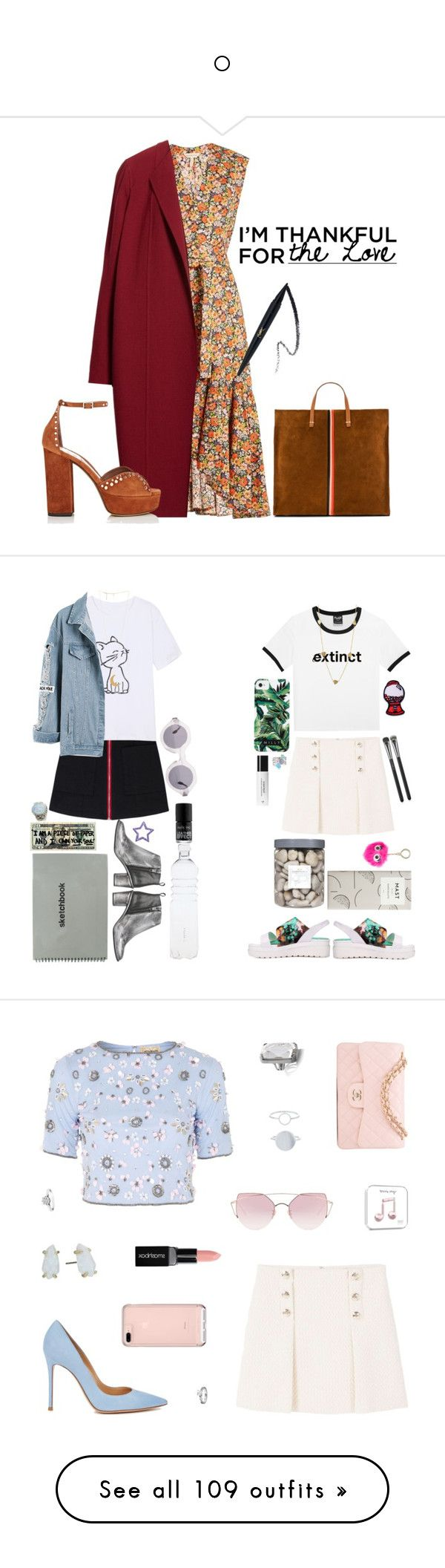 """""""o"""" by magesticlover ❤ liked on Polyvore featuring Rebecca Taylor, Lafayette 148 New York, Tabitha Simmons, Clare V., Milly, MANGO, American Apparel, Context, Miista and MAC Cosmetics"""