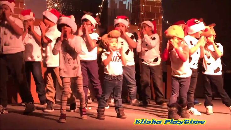 THANK YOU LORD FOR BABY JESUS KIDS CHRISTMAS PARTY PRESENTATION YOUNGEST...