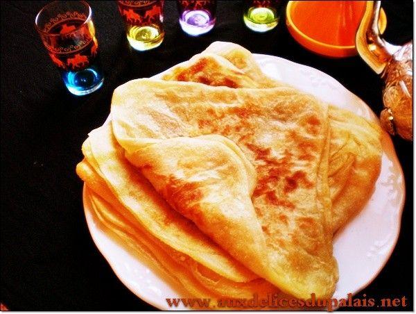 msemen crêpe arabe feuilletée