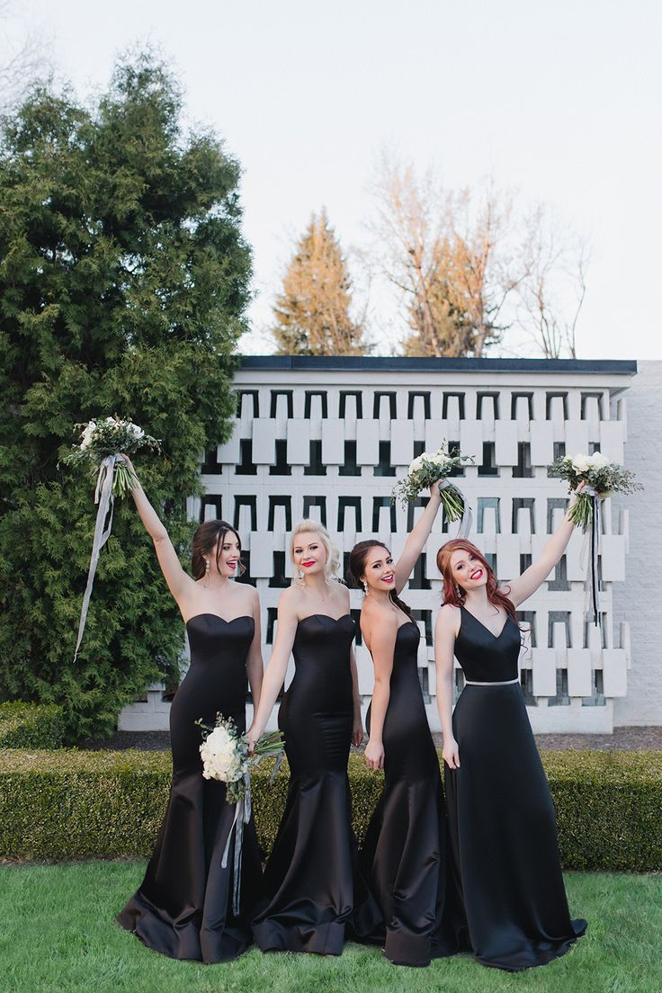 325 best black bridesmaid dresses weddings images on pinterest wedding chicks and the dessy group find this pin and more on black bridesmaid dresses ombrellifo Choice Image