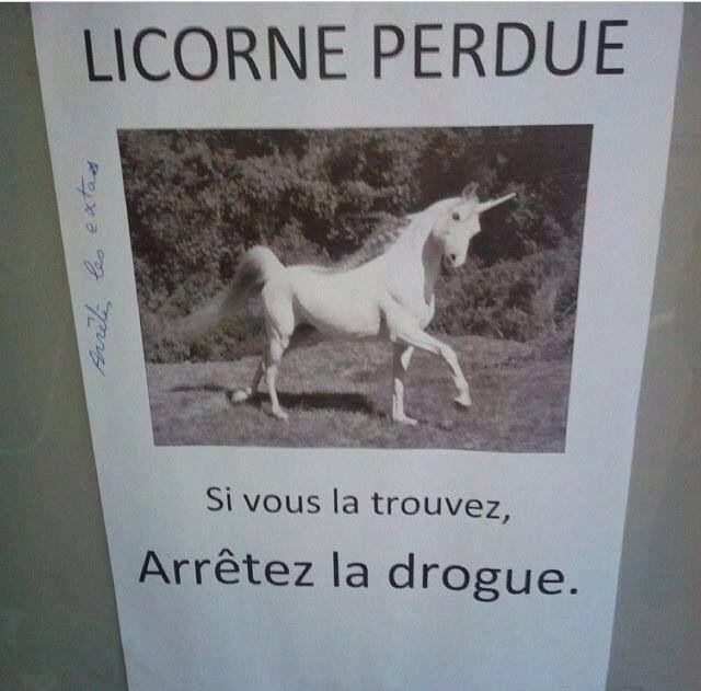 Licorne!!!