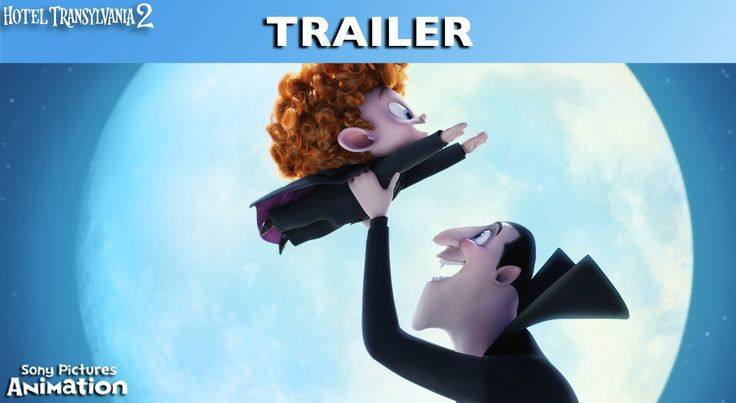 Hotel Transylvania 2 - Teaser Trailer. Dracula teaches his grandson to fly... or maybe not!