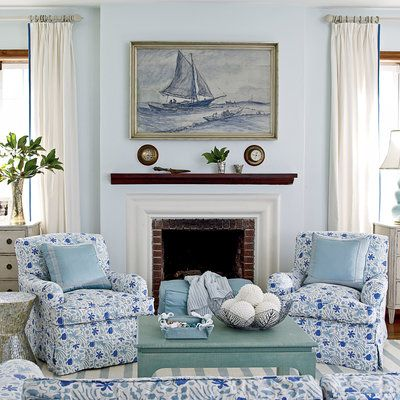 17 best images about beach cottage on pinterest starfish beach cottages and house of turquoise - Show pics of decorative sitting rooms ...