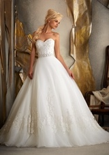Mori Lee wedding dress Style 1917 | House of Brides - plus