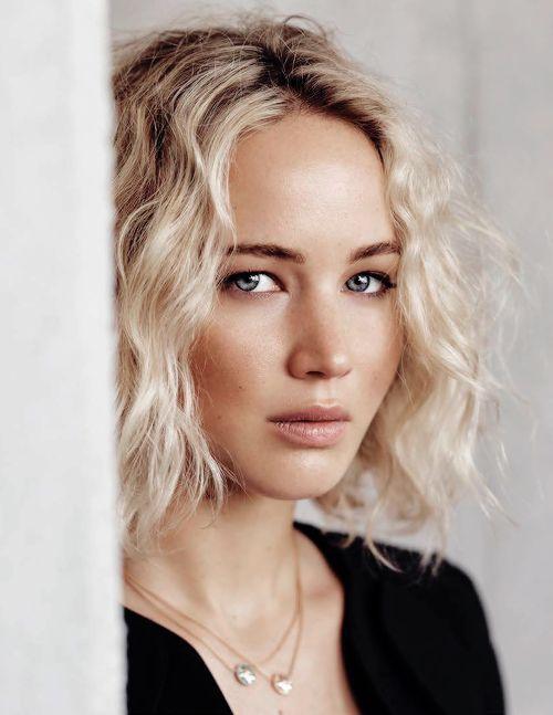 Jennifer Lawrence's Bob Hairstyles