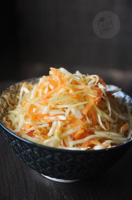 Kardamonowy: Surówka z kapusty z octem ryżowym