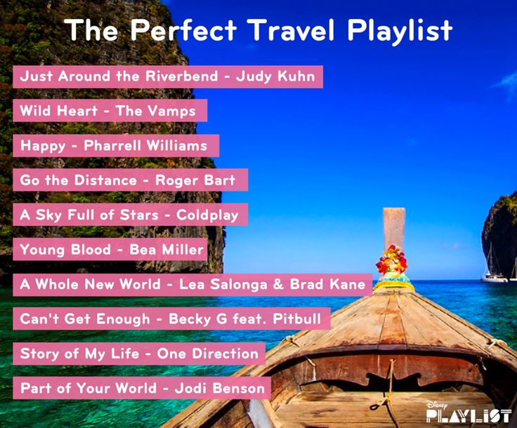 Songs about traveling the world