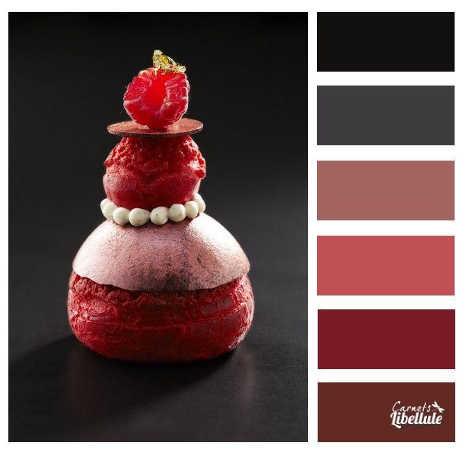 607 best harmonies de couleur images on pinterest color for Couleur framboise
