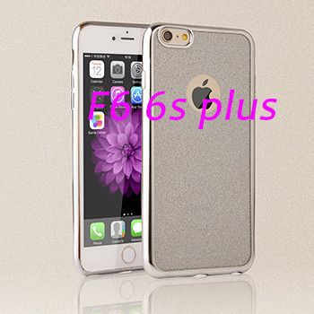 Luxury Glitter Clear Case for iPhone 6 6s Plus Coque Ultra Thin Back Cover Bling Crystal Soft TPU Phone Cases capa for i 6 6s