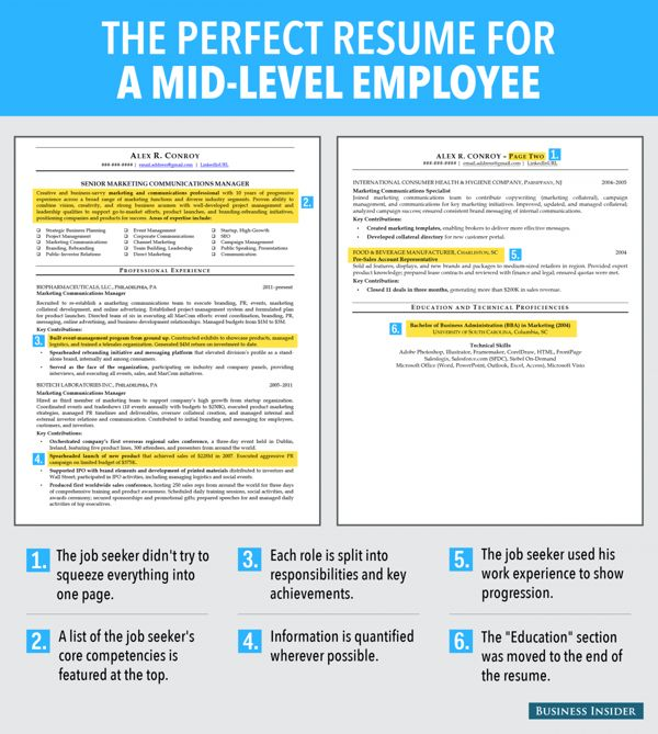 268 best Resume \ Cover Letter images on Pinterest Resume tips - how to create perfect resume