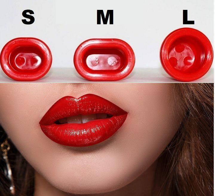 Lippen Pumpe Volumenverstärker Volle Lippen Enhancer **3er SET** Sexy Lips TOP