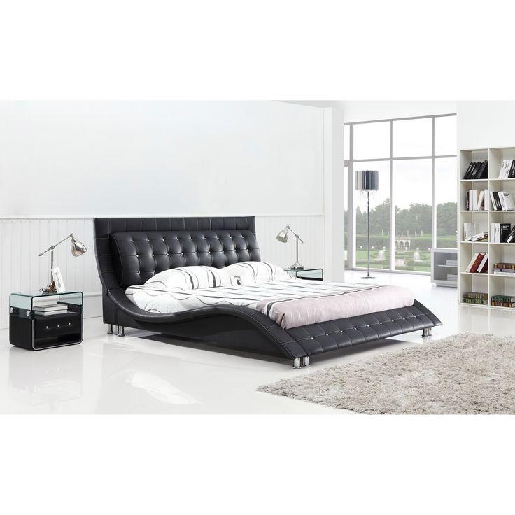 Dublin Queen Size Modern Platform Bed | Overstock.com Shopping   The Best  Deals
