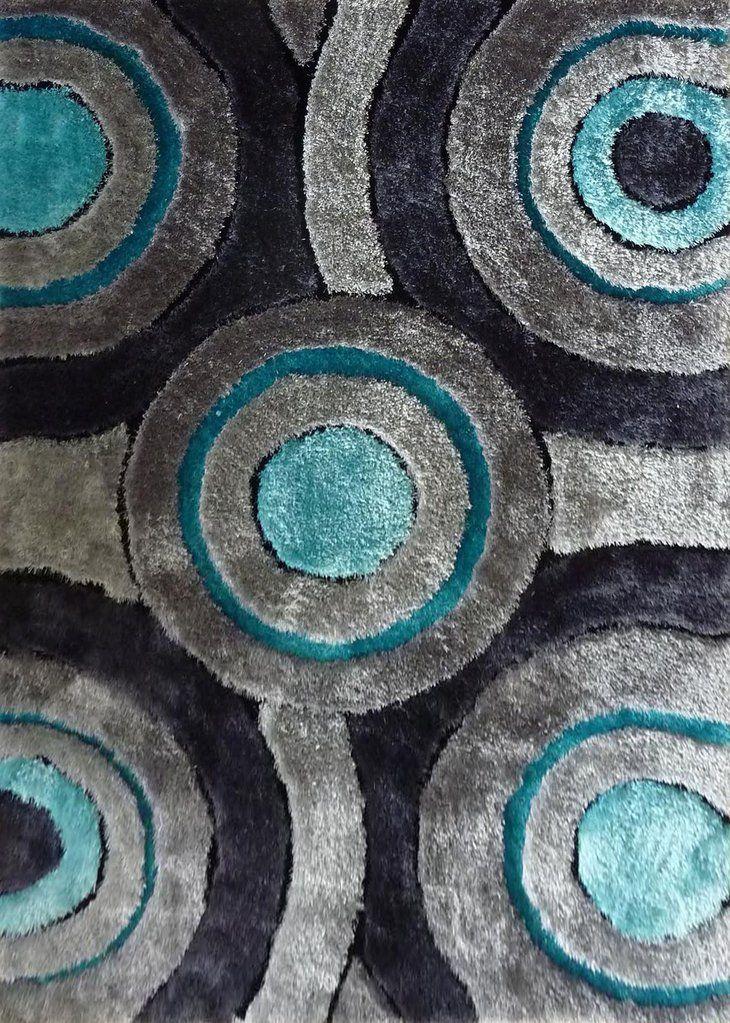 Black Grey And Turquoise Rug Turquoise Rug Area Rugs Plush