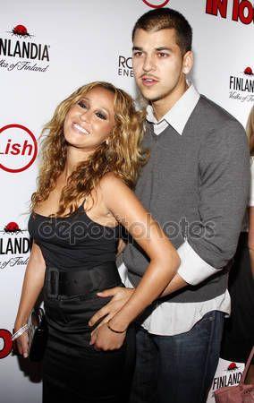 Adrienne Bailon and Rob Kardashian