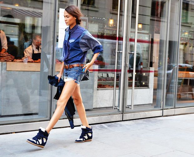 Joan Smalls  #model #fashion#shoes #wedges #wedge #fashionweek #style #streetstyle #girls #runway #designers