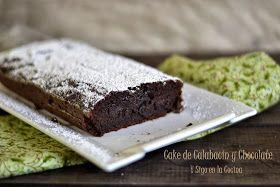 Un cake sorprendente,y milagroso,para muchos de mis comensales,que no podían creerse,que fuera de calabacín.Y es que no se nota absolu...
