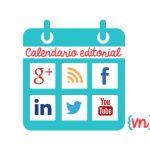 Plantilla para crear un calendario editorial en las redes sociales